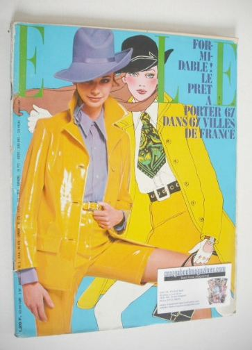 <!--1967-03-16-->French Elle magazine - 16 March 1967