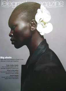<!--2009-02-14-->Telegraph magazine - Alek Wek cover (14 February 2009)