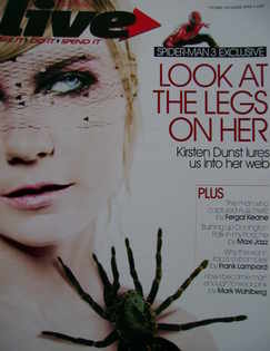 <!--2007-04-08-->Live magazine - Kirsten Dunst cover (8 April 2007)