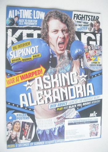 <!--2015-10-17-->Kerrang magazine - Ben Bruce cover (17 October 2015 - Issu