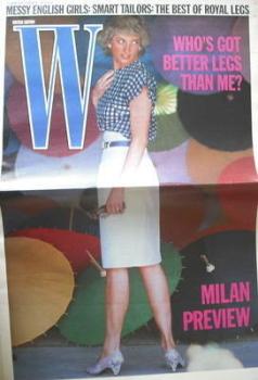 W magazine (25 February - 9 March 1988)