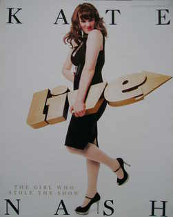 Live magazine - Kate Nash cover (16 December 2007)