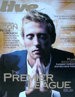 Live magazine - Peter Crouch cover (5 August 2007)