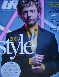 Live magazine - Michael Sheen cover (8 March 2009)
