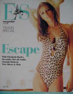 <!--2007-03-30-->Evening Standard magazine - Elizabeth Hurley cover (30 March 2007)