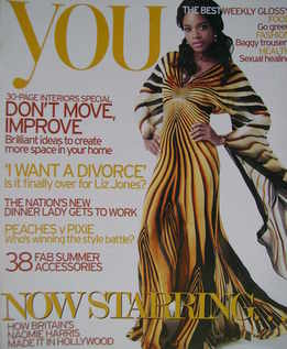 <!--2007-05-20-->You magazine - Naomie Harris cover (20 May 2007)
