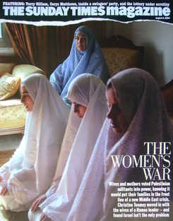 <!--2006-08-06-->The Sunday Times magazine - The Women's War cover (6 Augus