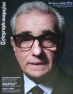 <!--2010-03-06-->Telegraph magazine - Martin Scorsese cover (6 March 2010)
