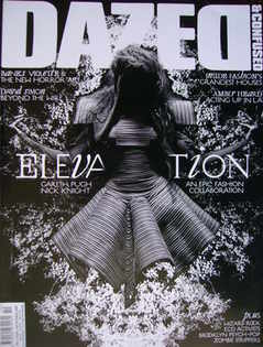 Dazed & Confused magazine (October 2008 - Abbey Lee Kershaw cover)