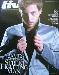 <!--2008-08-31-->Live magazine - James Morrison cover (31 August 2008)