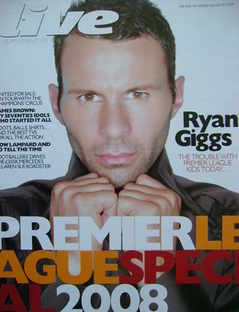 <!--2008-08-10-->Live magazine - Ryan Giggs cover (10 August 2008)
