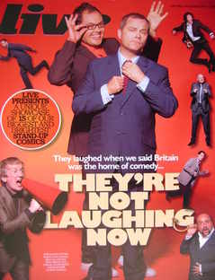 <!--2009-05-17-->Live magazine - Alan Carr and Jack Dee cover (17 May 2009)