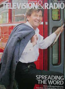Television&Radio magazine - Melvyn Bragg cover (5 April 2008)