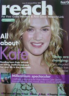 Reach Magazine - Kate Winslet cover (Issue 2: Autumn/Winter 2004)