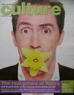 <!--2008-02-24-->Culture magazine - Rob Brydon cover (24 February 2008)