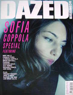 <!--2006-11-->Dazed & Confused magazine (November 2006 - Sofia Coppola cove
