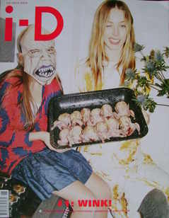 i-D magazine - Raquel Zimmermann cover (June/July 2009)
