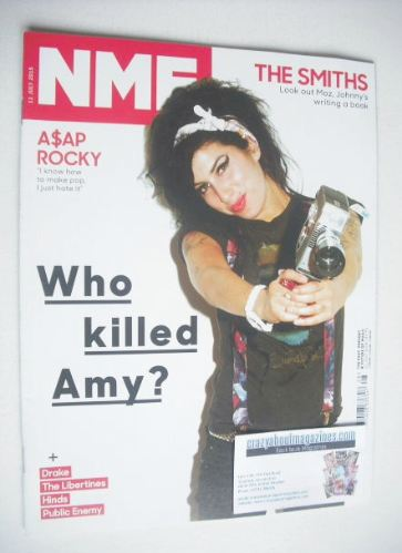 <!--2015-07-11-->NME magazine - Amy Winehouse cover (11 July 2015)
