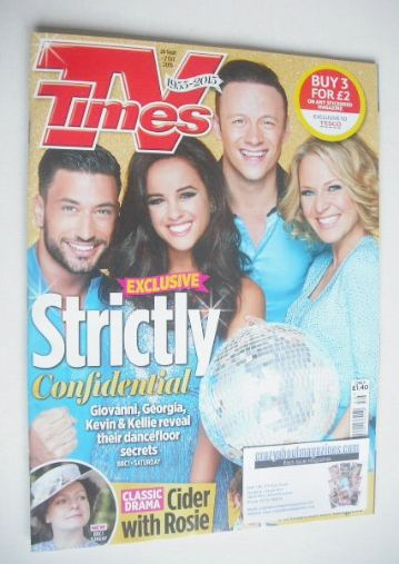 <!--2015-09-26-->TV Times magazine - Strictly cover (26 September - 2 Octob