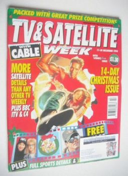 TV & Satellite Week magazine - Christmas Issue (17-30 December 1994)