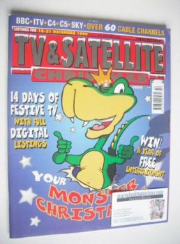 TV & Satellite Week magazine - Christmas Issue (18-31 December 1999)