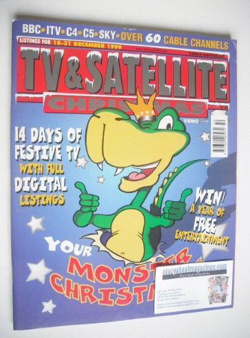 <!--1999-12-18-->TV&Satellite Week magazine - Christmas Issue (18-31 Decemb