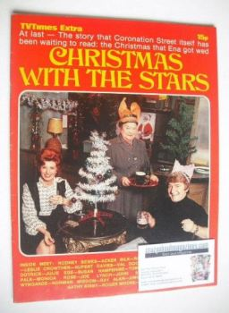TV Times Extra magazine - Christmas With The Stars cover (Christmas 1971)