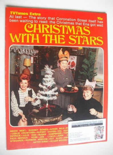 <!--1971-12-31-->TV Times Extra magazine - Christmas With The Stars cover (