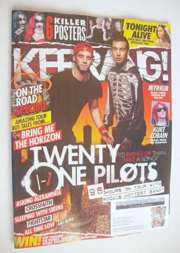 <!--2015-11-07-->Kerrang magazine - Twenty One Pilots cover (7 November 201