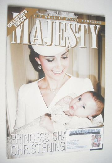 <!--2015-08-->Majesty magazine - Kate and Princess Charlotte cover (August