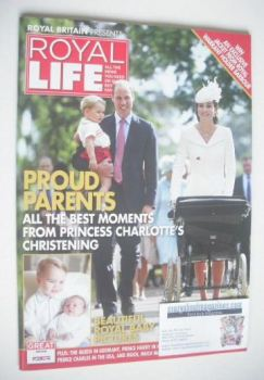 Royal Life magazine - Princess Charlotte christening cover (Issue 17)