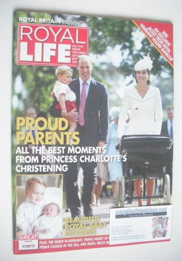 <!--0017-->Royal Life magazine - Princess Charlotte christening cover (Issu