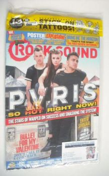 Rock Sound magazine - PVRIS cover (September 2015)