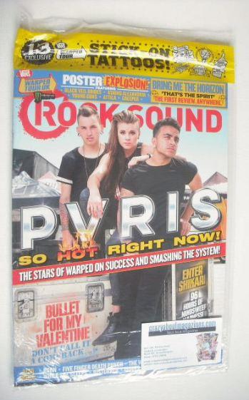 <!--2015-09-->Rock Sound magazine - PVRIS cover (September 2015)