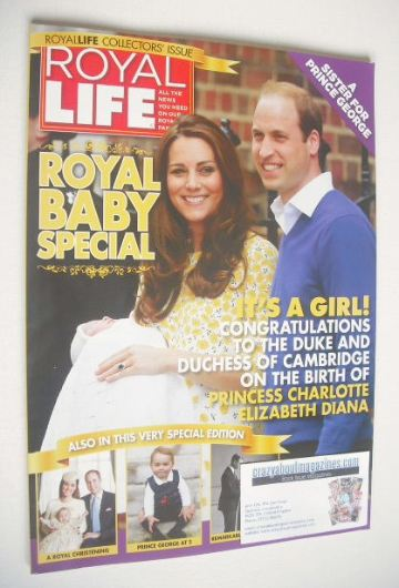 <!--0016-->Royal Life magazine - Royal Baby Special (Issue 16)