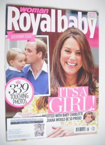<!--2015-05-->Woman magazine - Royal Baby Special Issue (May 2015)