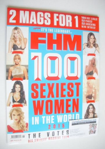 <!--2015-06-->FHM magazine - 100 Sexiest Women In The World 2015 (June 2015