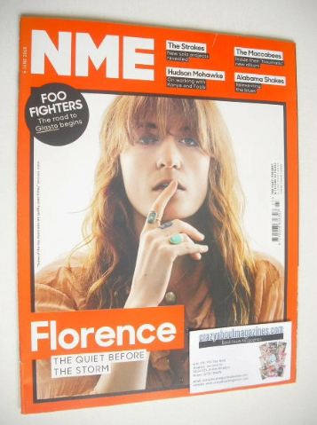 <!--2015-06-06-->NME magazine - Florence Welch cover (6 June 2015)
