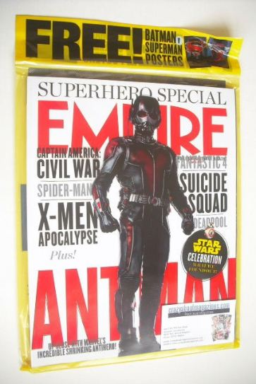 <!--2015-07-->Empire magazine - Ant-Man cover (July 2015)