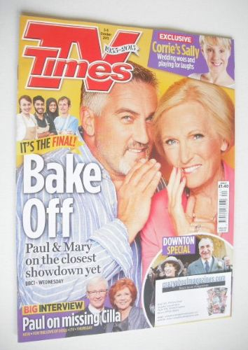<!--2015-10-03-->TV Times magazine - Paul Hollywood and Mary Berry cover (3
