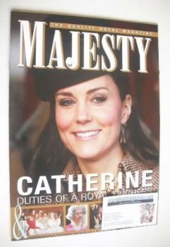 Majesty magazine - The Duchess of Cambridge cover (February 2015)