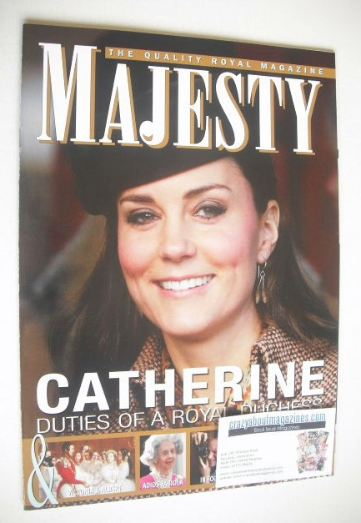 <!--2015-02-->Majesty magazine - The Duchess of Cambridge cover (February 2