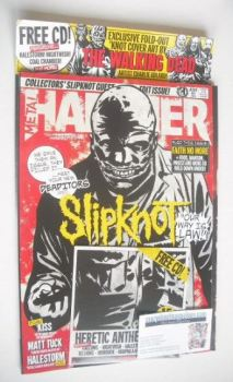 Metal Hammer magazine - Slipknot cover (May 2015)