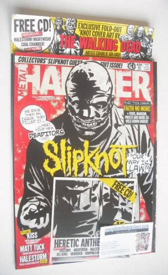 <!--2015-05-->Metal Hammer magazine - Slipknot cover (May 2015)