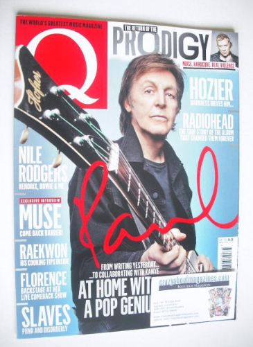 <!--2015-05-->Q magazine - Paul McCartney cover (May 2015)
