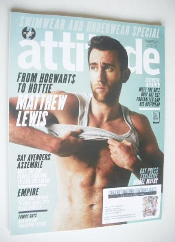 <!--2015-06-->Attitude magazine - Matthew Lewis cover (June 2015)