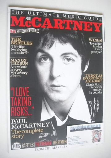 <!--2014-10-->The Ultimate Music Guide magazine - Paul McCartney cover (Iss