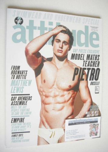 <!--2015-06-->Attitude magazine - Pietro Boselli cover (June 2015)