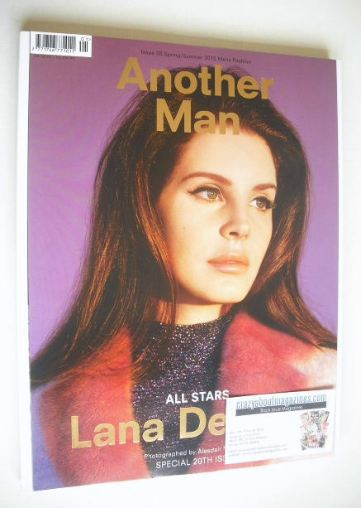<!--2015-04-->Another Man magazine - Spring/Summer 2015 - Lana Del Rey cove