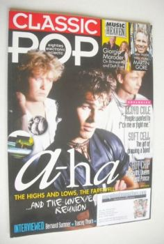 Classic Pop magazine - A-Ha cover (June/July 2015)